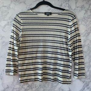 APC Stripped T shirt